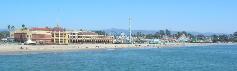 Santa Cruz beach and boardwalk